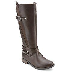 Olivia Miller Dillingham Women's Dual Buckle Gore Boots
