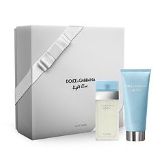 DOLCE & GABBANA Light Blue Women's Perfume & Body Cream Gift Set ($72 Value)