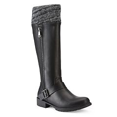 Olivia Miller Valdez Women's Sweater Top Riding Boots