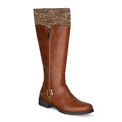 Olivia Miller Valdez Women's Sweater Top Riding Boots