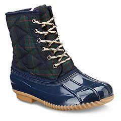 Olivia Miller Wrangell Women's Quilted Duck Boots