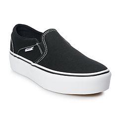 f38d2a1070a2cc Vans Asher Women s Platform Skate Shoes