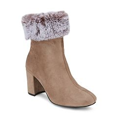 Olivia Miller Noorvik Women's Faux Fur Top Booties