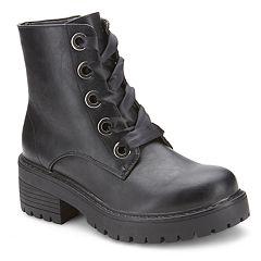Olivia Miller Kodiak Women's Chunky Heel Boots