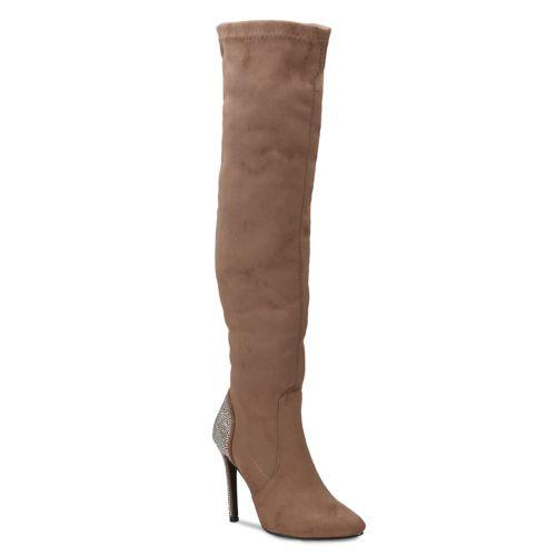 Olivia Miller Sterling Women's Heel Embellished Boots by Kohl's