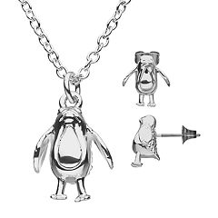Star Wars Porg Stud Earrings & Pendant Necklace Set