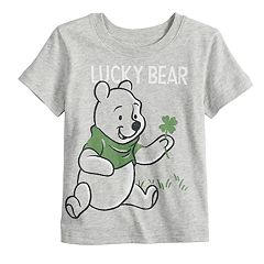 fcccdff41 Disney's Winnie the Pooh Toddler Boy 'Lucky Bear' Graphic Tee by Jumping  Beans®