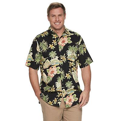 Men's Batik Bay Tropical Button-Down Shirt