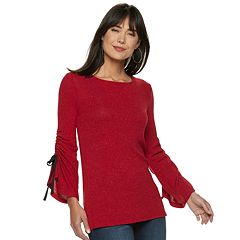 Women's Juicy Couture Cinch Bell-Sleeve Top