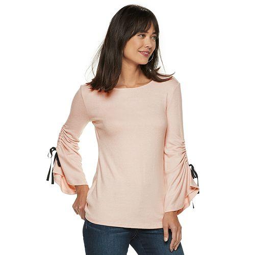 Women's Juicy Couture Cinch Bell-Sleeve Top