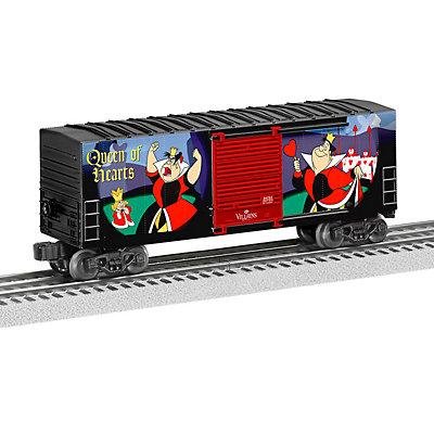 Lionel Queen of Hearts Disney Villains Hi-Cube Boxcar