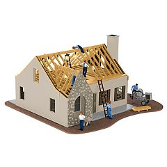 Lionel Plug-Expand-Play House Under Construction