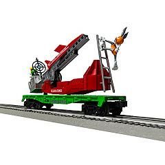 Lionel Looney Tunes Marvin the Martian Earth Stomper Flatcar