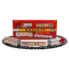 Lionel Santa Fe Ready-to-Play Seasonal Large Gauge Set