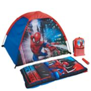 Marvel Spiderman 4-Piece Sleeping Kit