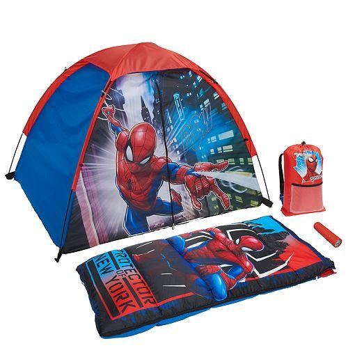 Marvel Spiderman 4-Piece Sleeping Kit