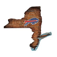 Buffalo Bills State Sign Wall Art
