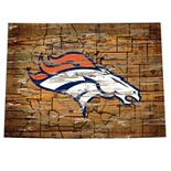 Denver Broncos State Sign Wall Art