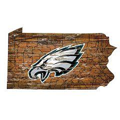fb4a4c234cc Philadelphia Eagles State Sign Wall Art