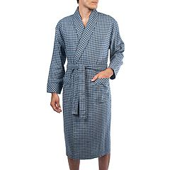 Men's Residence Flannel Shawl-Collar Robe