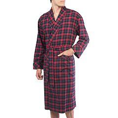 Men's Residence Flannel Shawl-Collar Robe