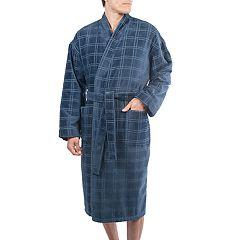 Men's Residence Velour Kimono Robe