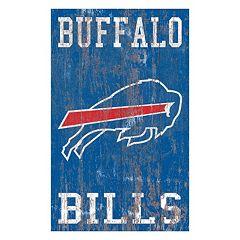 Buffalo Bills Logo Sign Wall Art