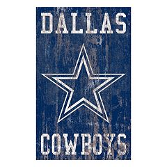 Dallas Cowboys Logo Sign Wall Art
