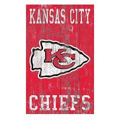 Kansas City Chiefs Logo Sign Wall Art