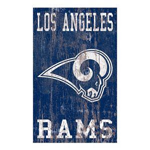 Los Angeles Rams Logo Sign Wall Art