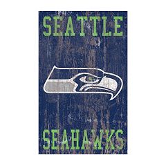 Seattle Seahawks Logo Sign Wall Art