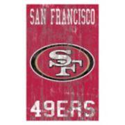 San Francisco 49ers Logo Sign Wall Art
