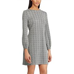 Women's Chaps Houndstooth Sheath Dress