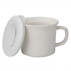 CorningWare Hammered Bing Mug with Vented Lid
