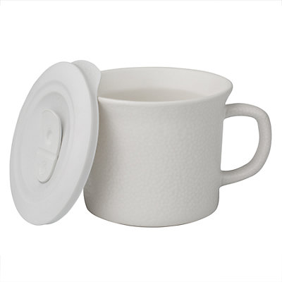 CorningWare Hammered Bing Mug with Vented Lid