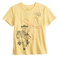 Disney / Pixar Toy Story Baby Boy Woody Pocket Graphic Tee by Jumping Beans®