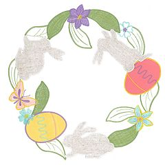 Celebrate Easter Together Easter Cut-Out Placemat
