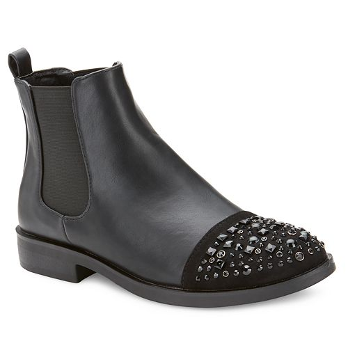 Olivia Miller Cordova Chelsea Women's Studded Ankle Boots