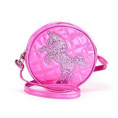 Girls Limited Too Glitter Unicorn Handbag