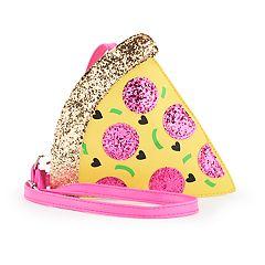 Girls Limited Too Glitter Pizza Slice Handbag
