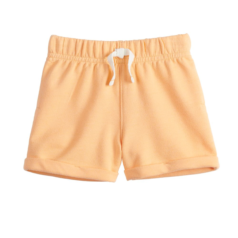 Baby Girl Jumping Beans® French Terry Shorts