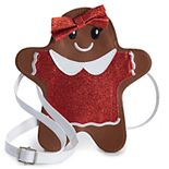 Girls Limited Too Gingerbread Cookie Crossbody Bag Purse