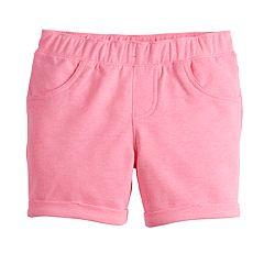 Girls 4-12 Jumping Beans® Pink Midi Shorts