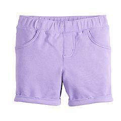 Girls 4-12 Jumping Beans® Purple Midi Shorts