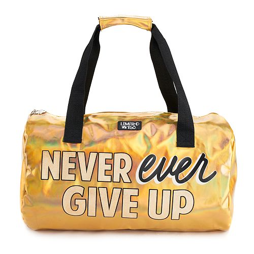 Girls Limited Too Inspiring Fashion Duffle Bag