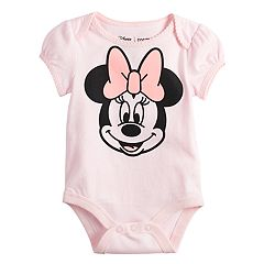 Disney's Minnie Mouse Baby Girl Bodysuit by Jumping Beans®