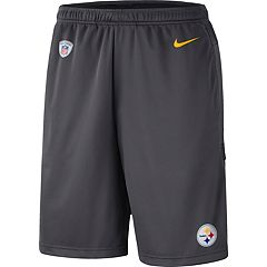 official photos 177df 2464c Men s Nike Pittsburgh Steelers Dri-FIT Coach Shorts