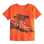 Toddler Boy Disney/Pixar Cars Jumping Beans® Slubbed Short-Sleeved Lightning McQueen Tee