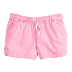 Girls 4-12 Jumping Beans® Neon Twill Shorts