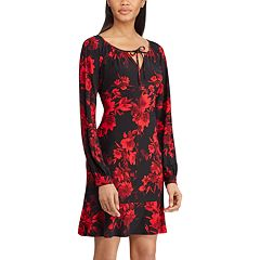 Women's Chaps Floral Peasant Dress